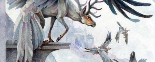 Перитон – крылатый олень античности