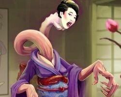 Рокурокуби – японский длинношеий демон