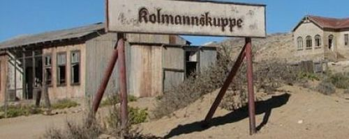 Колманскоп – заброшенный город-призрак в пустыне Намибии
